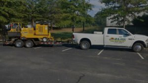 E-Z Tree Service Commercial Vehicle